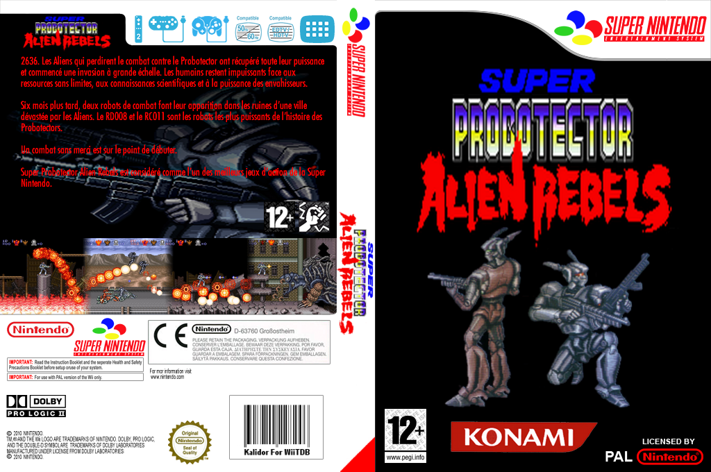 Super Probotector : Alien Rebels Array coverfullHQ (JALP)