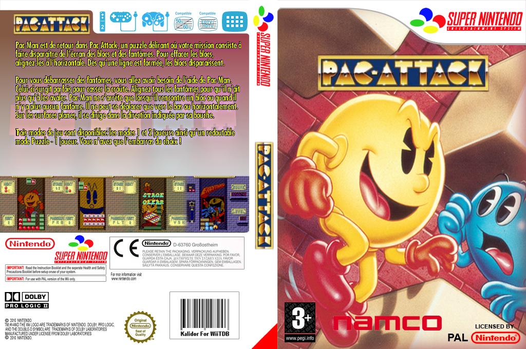 Pac-Attack Wii coverfullHQ (JBLP)