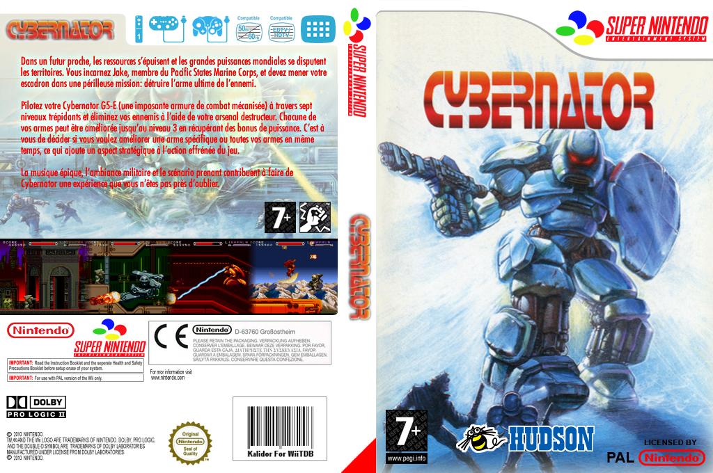 Cybernator Wii coverfullHQ (JBWP)