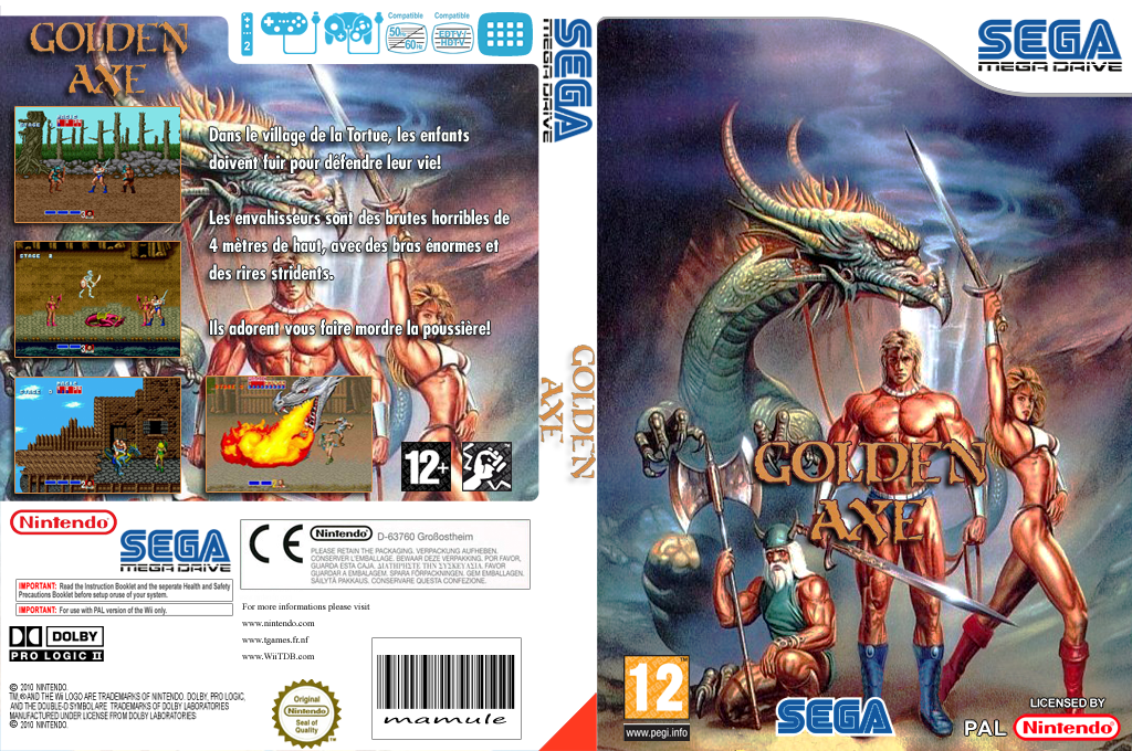 Golden Axe Wii coverfullHQ (MAEP)