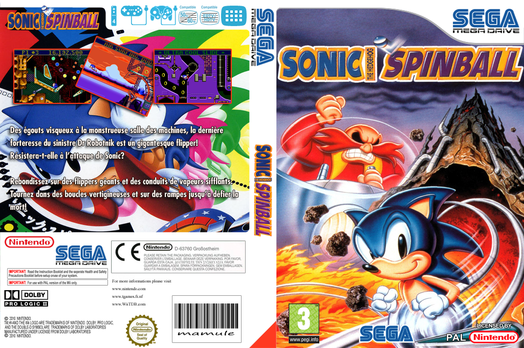 Sonic Spinball Wii coverfullHQ (MATP)