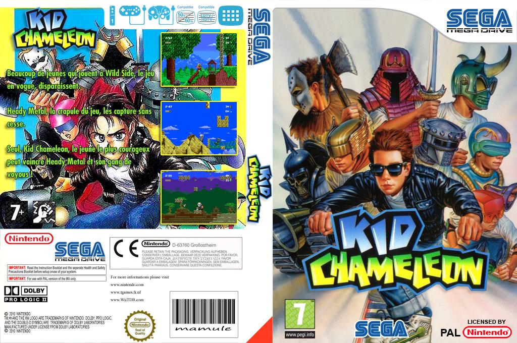 Kid Chameleon Wii coverfullHQ (MBCP)