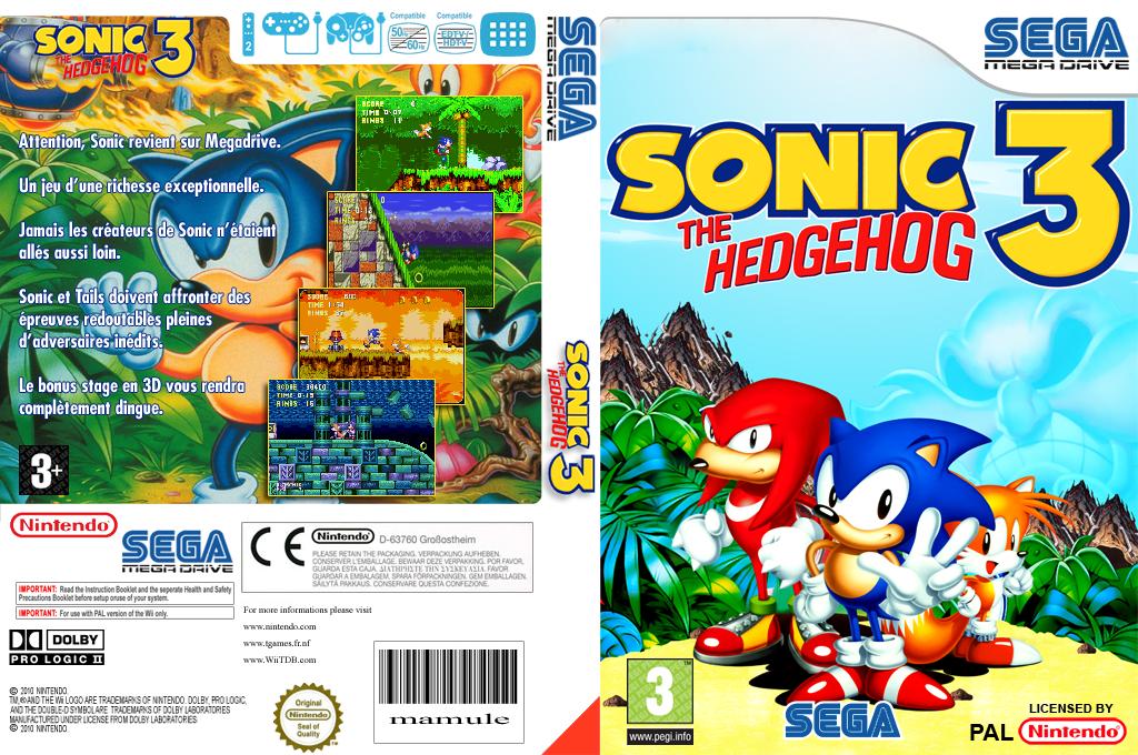 Sonic the Hedgehog 3 Wii coverfullHQ (MBMP)