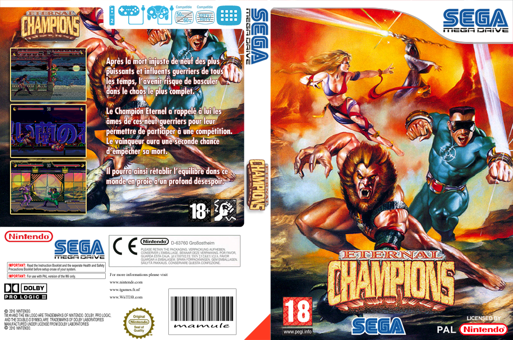 Eternal Champions Wii coverfullHQ (MBZP)