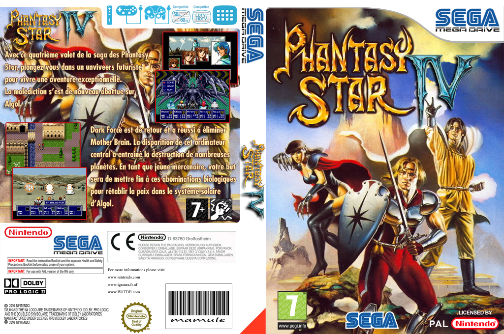 Phantasy Star IV Wii coverfullHQ (MCKP)