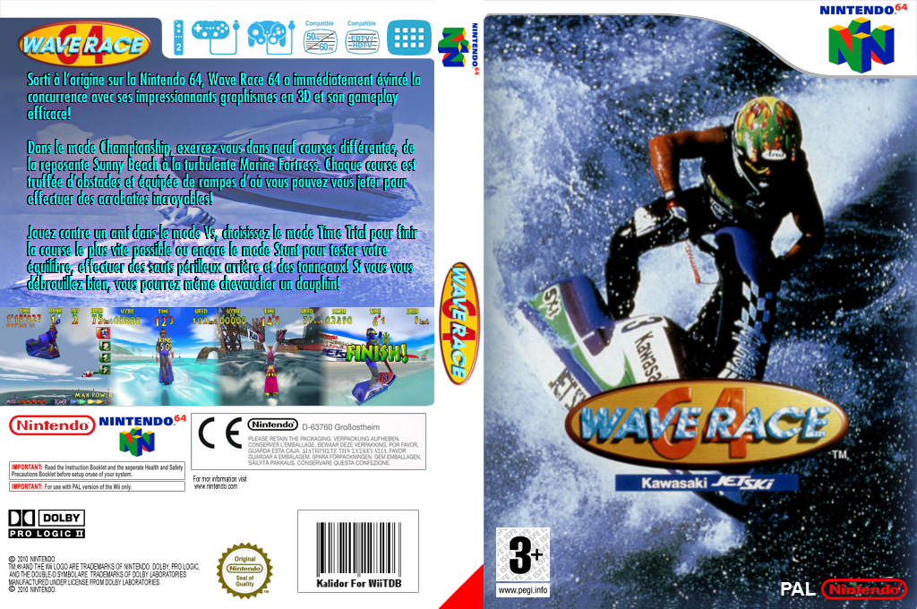 Wave Race 64 Wii coverfullHQ (NAIP)