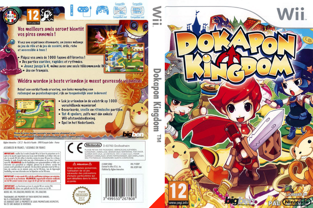 Dokapon Kingdom Array coverfullHQ (R2DPJW) 