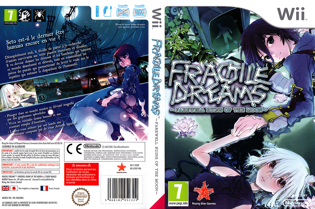 Fragile Dreams ~ Farewell Ruins of the Moon~ Wii coverfullHQ (R2GP99)