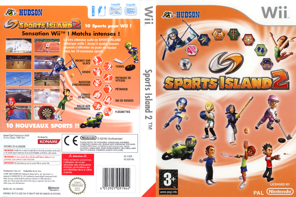 Sports Island 2 Wii coverfullHQ (R2SP18)