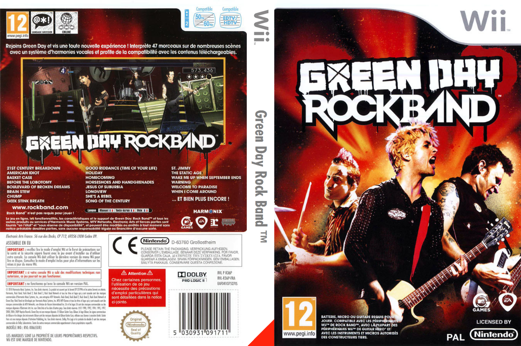 Green Day:Rock Band Wii coverfullHQ (R36P69)