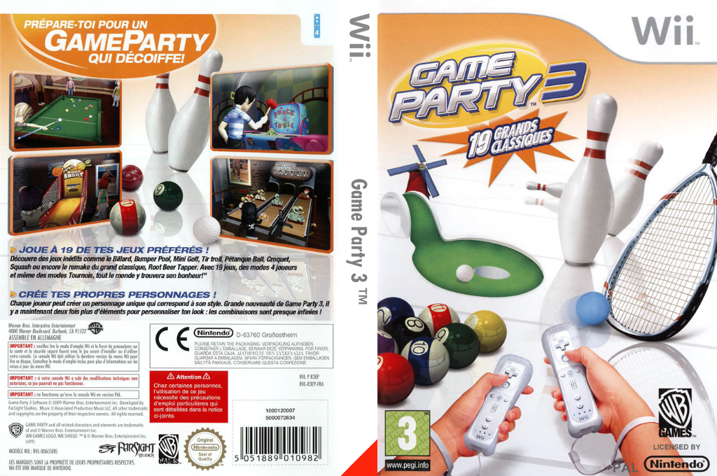 Game Party 3 Wii coverfullHQ (R3EPWR)