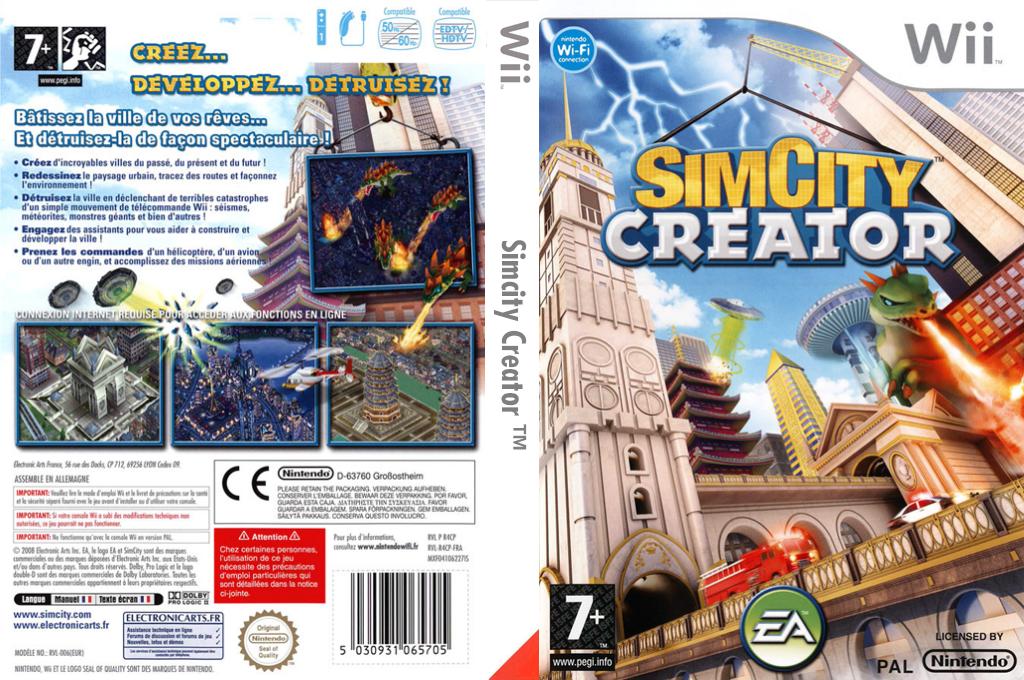 SimCity Creator Wii coverfullHQ (R4CP69)