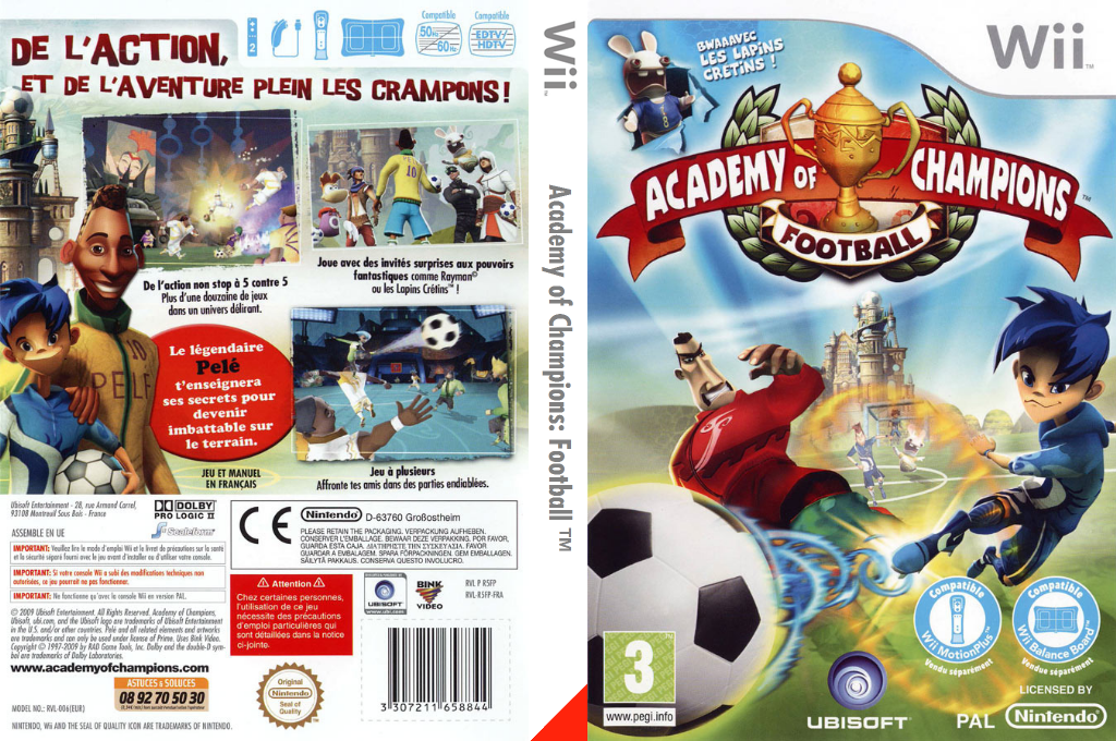 Academy of Champions : Football Wii coverfullHQ (R5FP41)