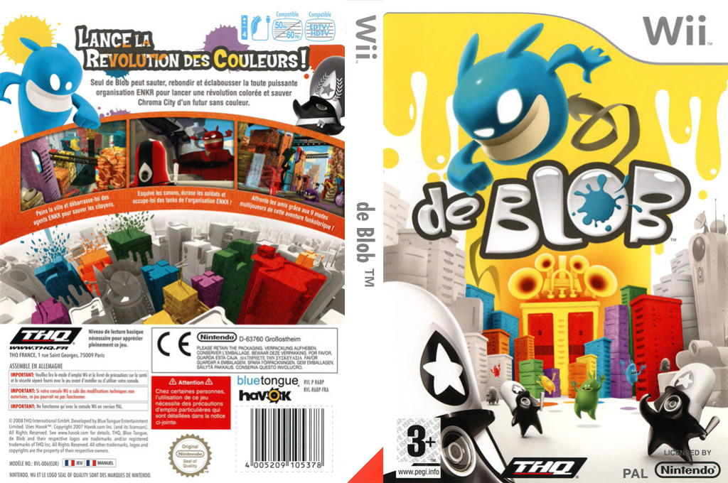 de Blob Wii coverfullHQ (R6BP78)