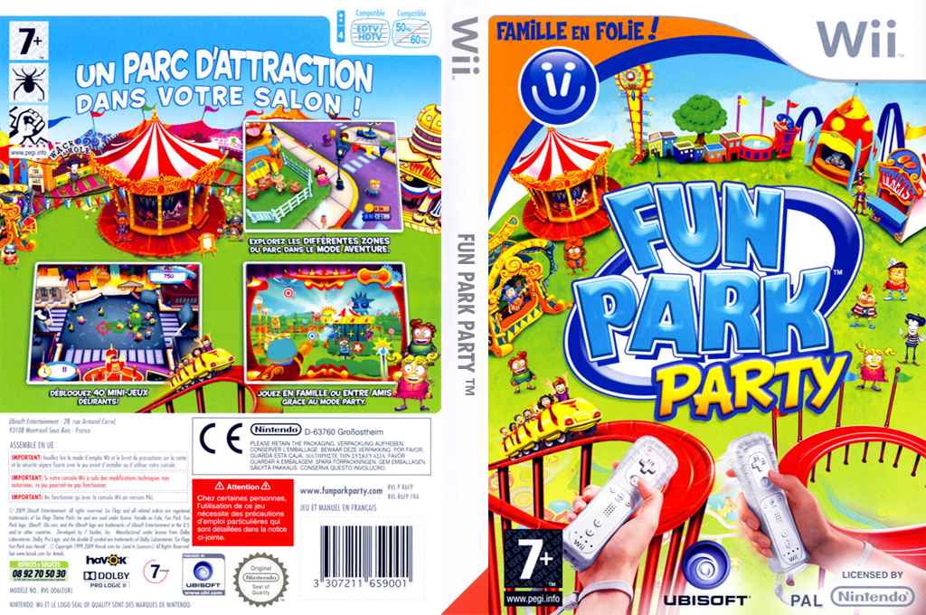 Fun Park Party Wii coverfullHQ (R6FP41)