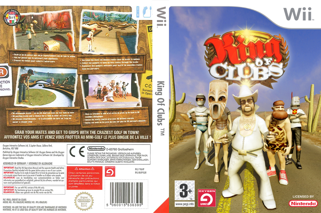 King of Clubs Wii coverfullHQ (R6VPGN)