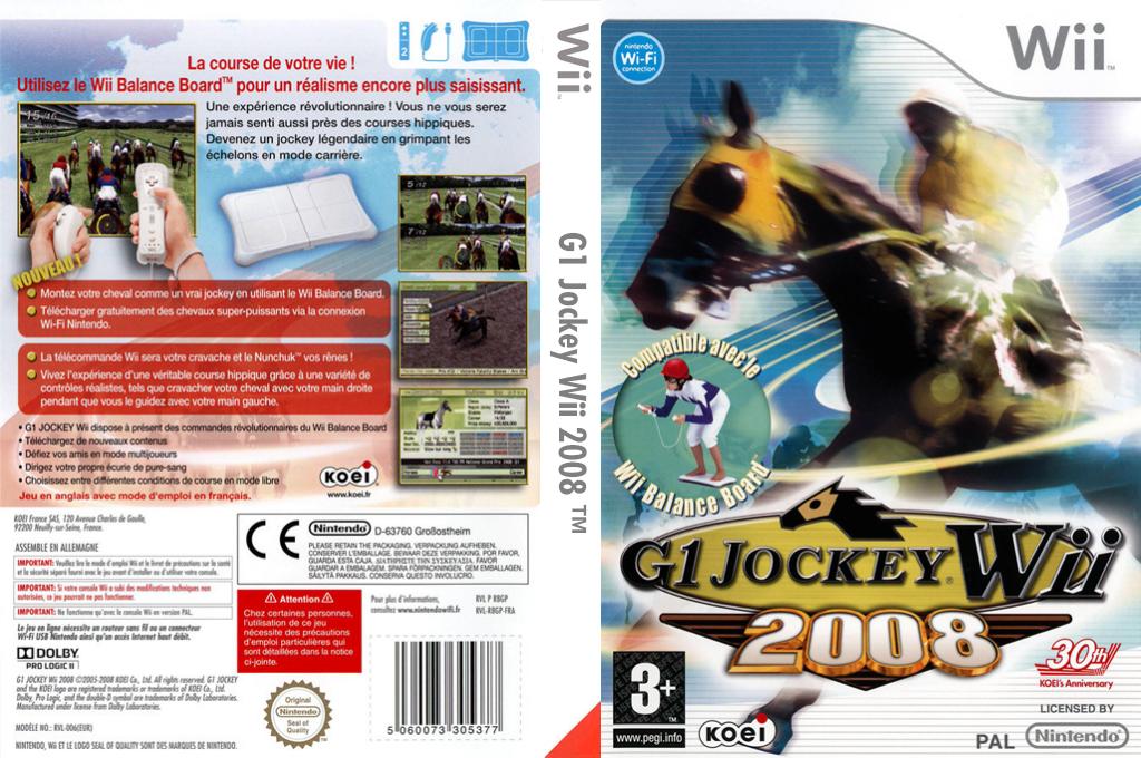 G1 Jockey Wii 2008 Wii coverfullHQ (R8GPC8)
