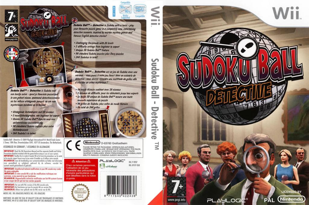 Sudoku Ball:Detective Wii coverfullHQ (R9SPPL)