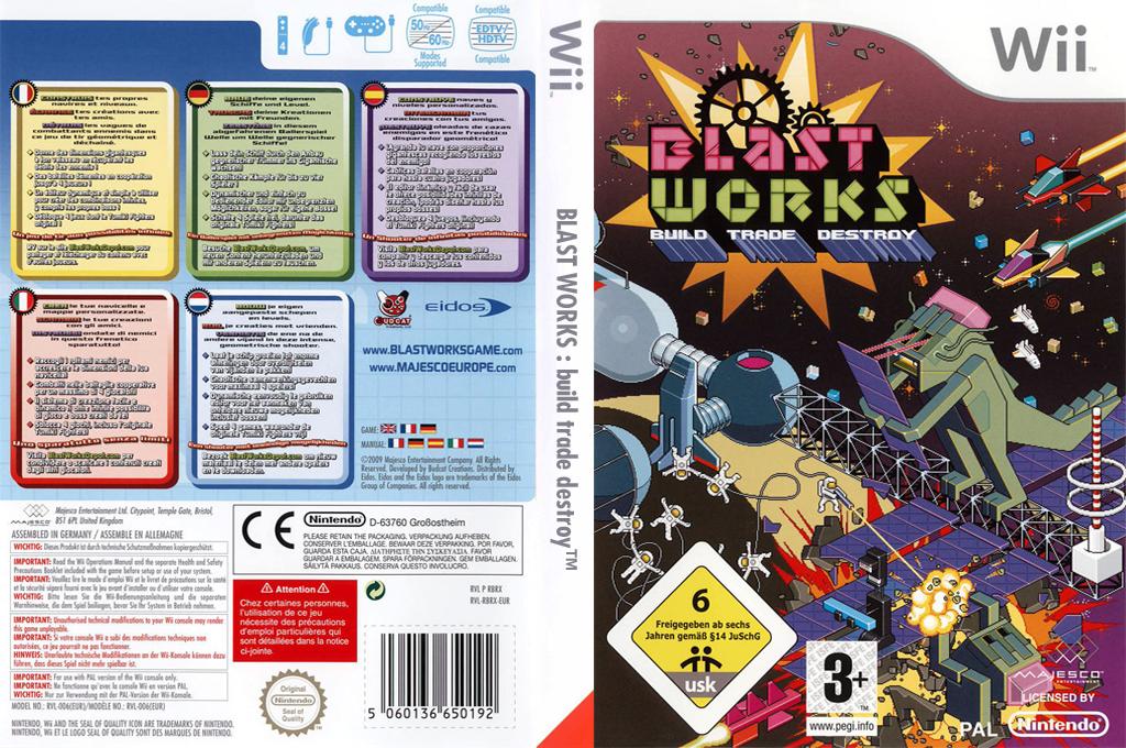 Blast Works : Build, Trade, Destroy Wii coverfullHQ (RBRX5G)