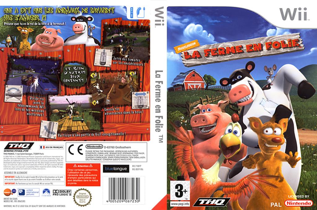 La Ferme en Folie Wii coverfullHQ (RBYP78)