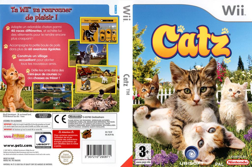 Catz Wii coverfullHQ (RC3X41)