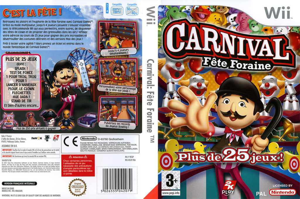 Carnival:Fête Foraine Wii coverfullHQ (RCGP54)