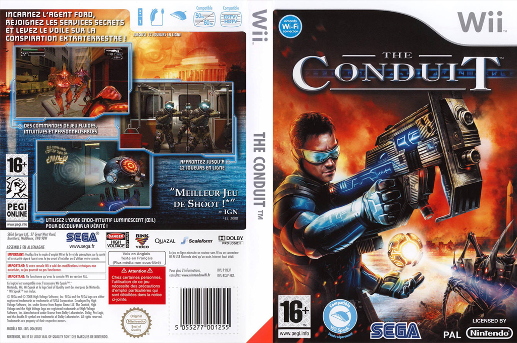 The Conduit Wii coverfullHQ (RCJP8P)