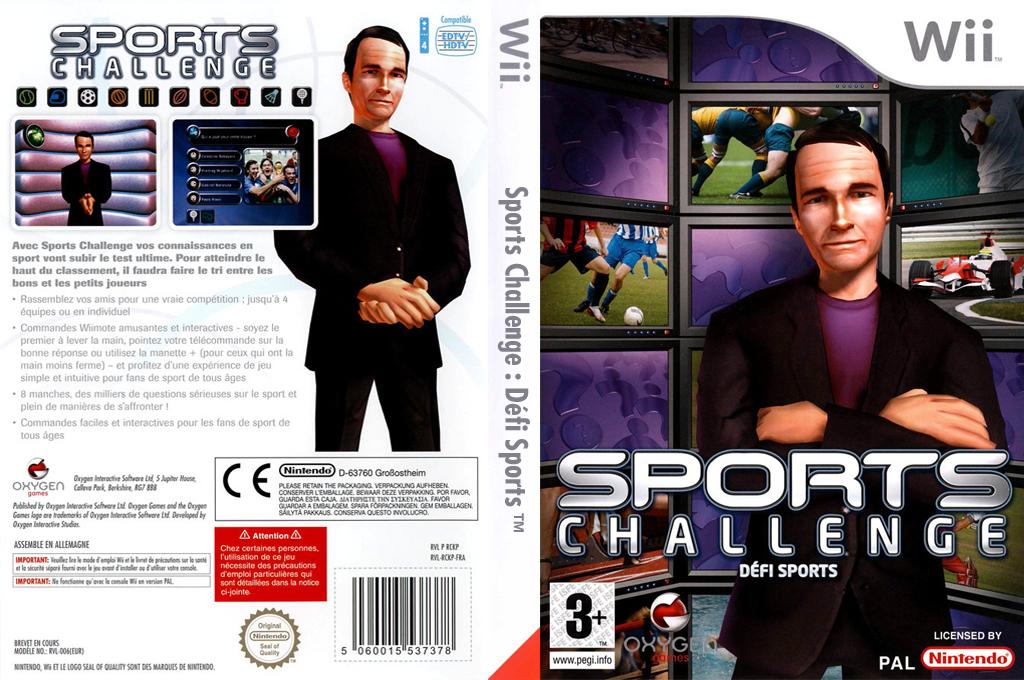 Sports Challenge:Defi Sports Wii coverfullHQ (RCKPGN)