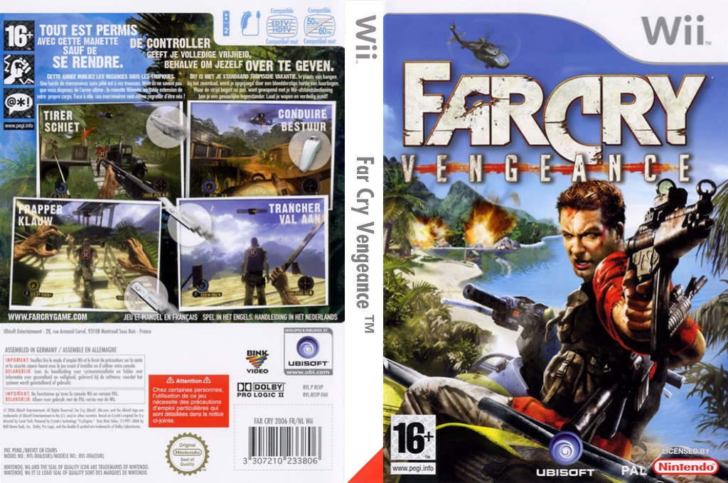 Far Cry : Vengeance Wii coverfullHQ (RCVP41)