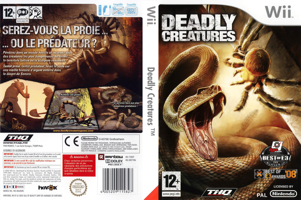 Deadly Creatures Array coverfullHQ (RDCP78)