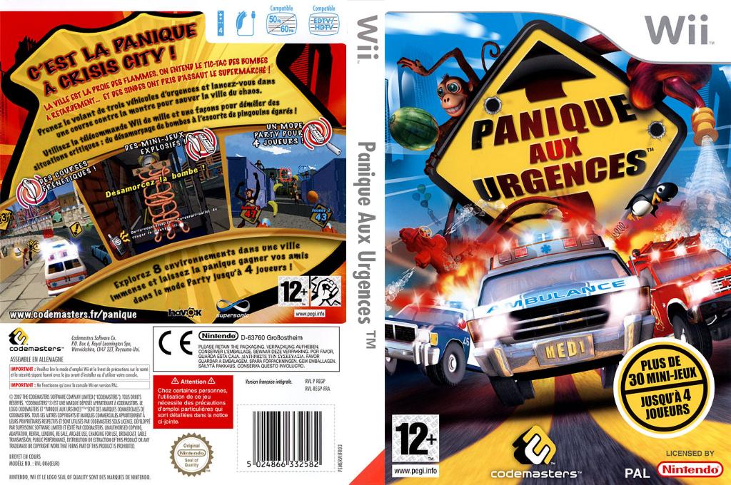 Panique Aux Urgences Array coverfullHQ (REGP36)