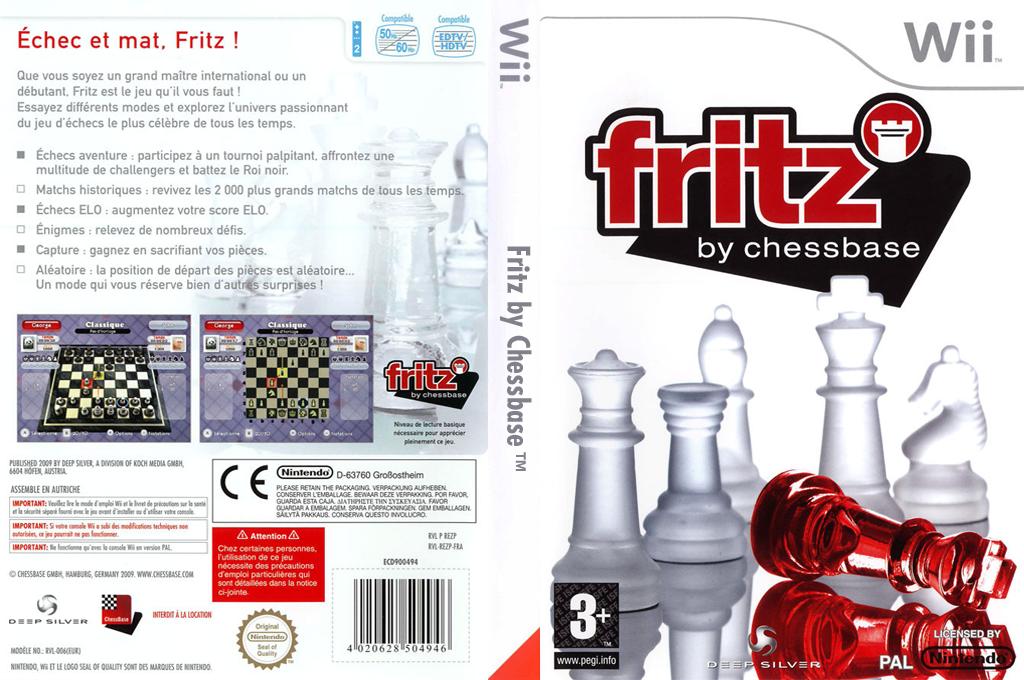 Fritz by Chessbase Wii coverfullHQ (REZPKM)