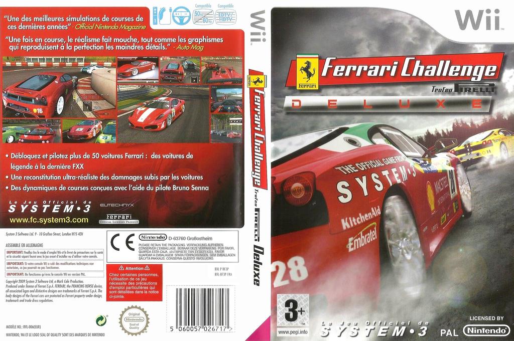 Ferrari Challenge Array coverfullHQ (RF3P6M)