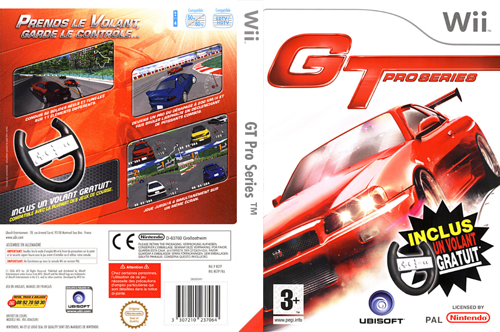 GT Pro Series Wii coverfullHQ (RGTP41)