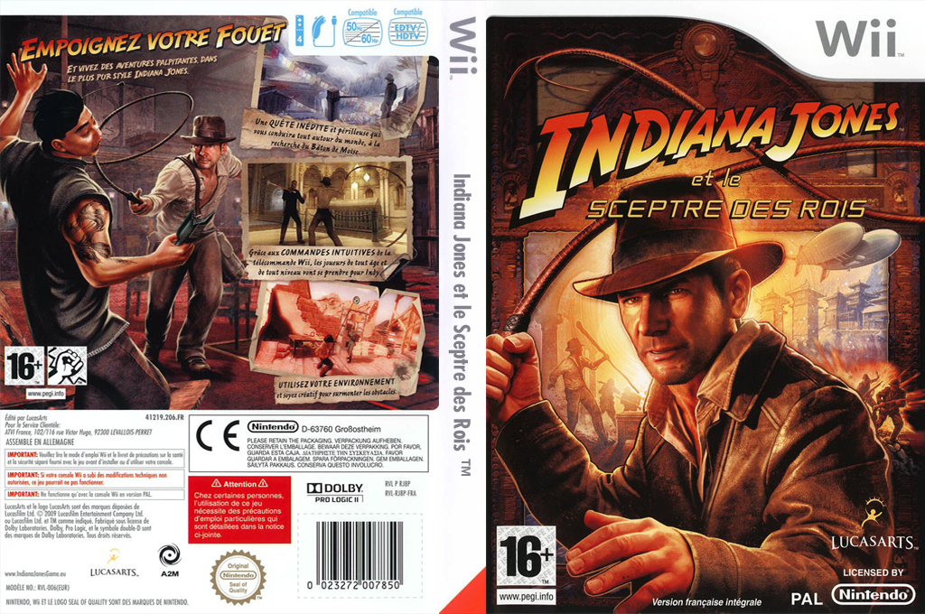 Indiana Jones et le Sceptre des Rois Wii coverfullHQ (RJ8P64)