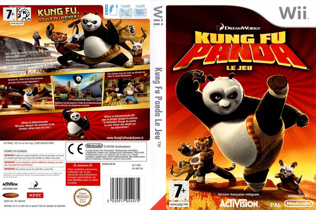Kung Fu Panda:Le Jeu Wii coverfullHQ (RKPP52)