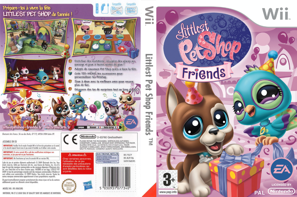 Littlest Pet Shop: Friends Array coverfullHQ (RL7P69)