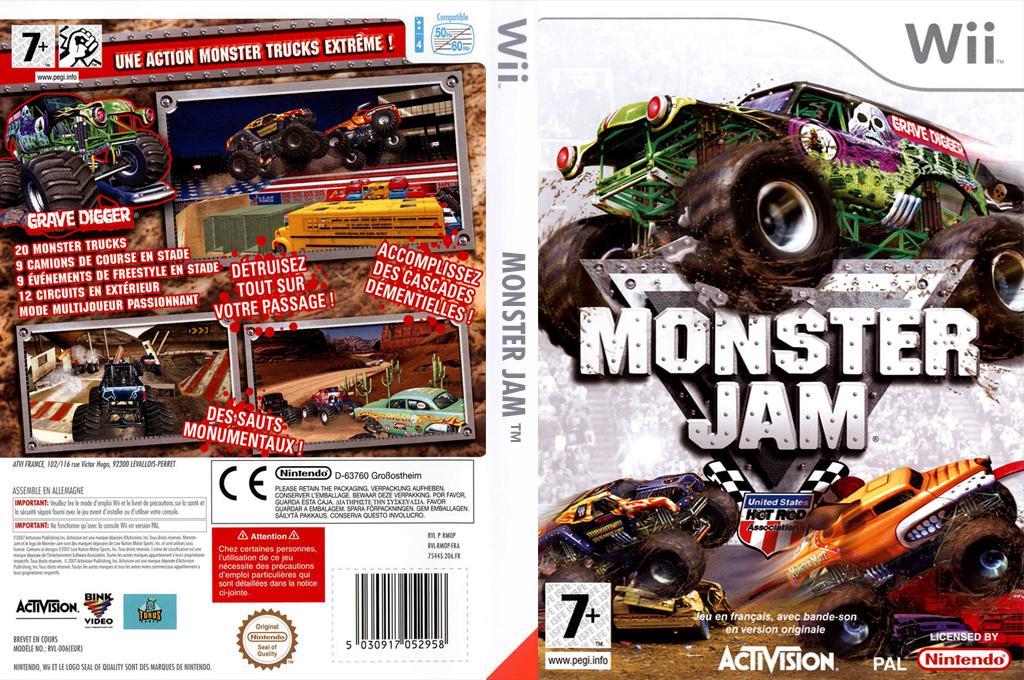 Monster Jam Array coverfullHQ (RMOP52)