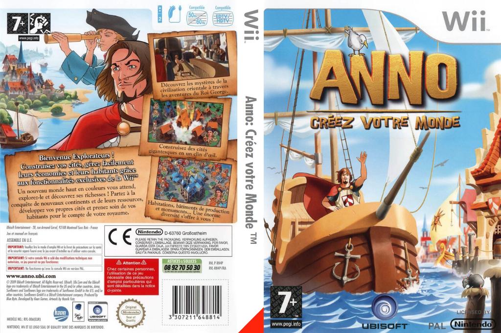 ANNO:Créez votre Monde Wii coverfullHQ (RN4P41)