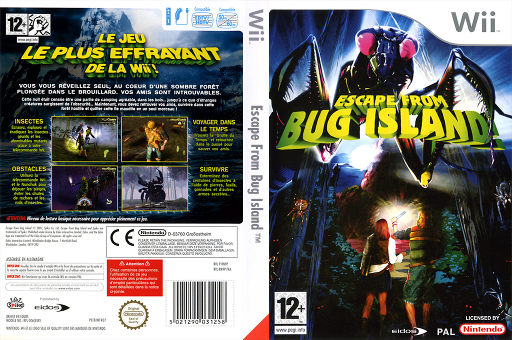 Escape From Bug Island Wii coverfullHQ (RN9P4F)
