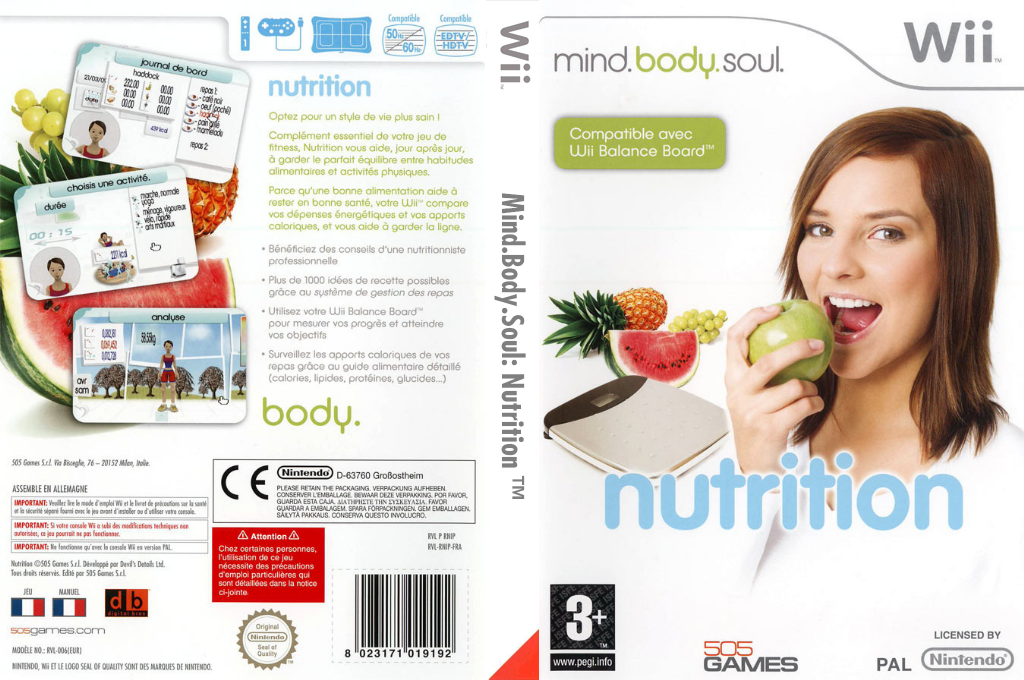 Mind.Body.Soul : Nutrition Wii coverfullHQ (RNIPGT)