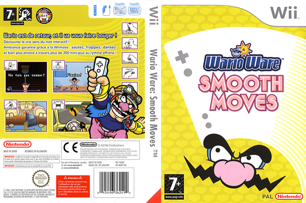 WarioWare : Smooth Moves Wii coverfullHQ (RODP01)