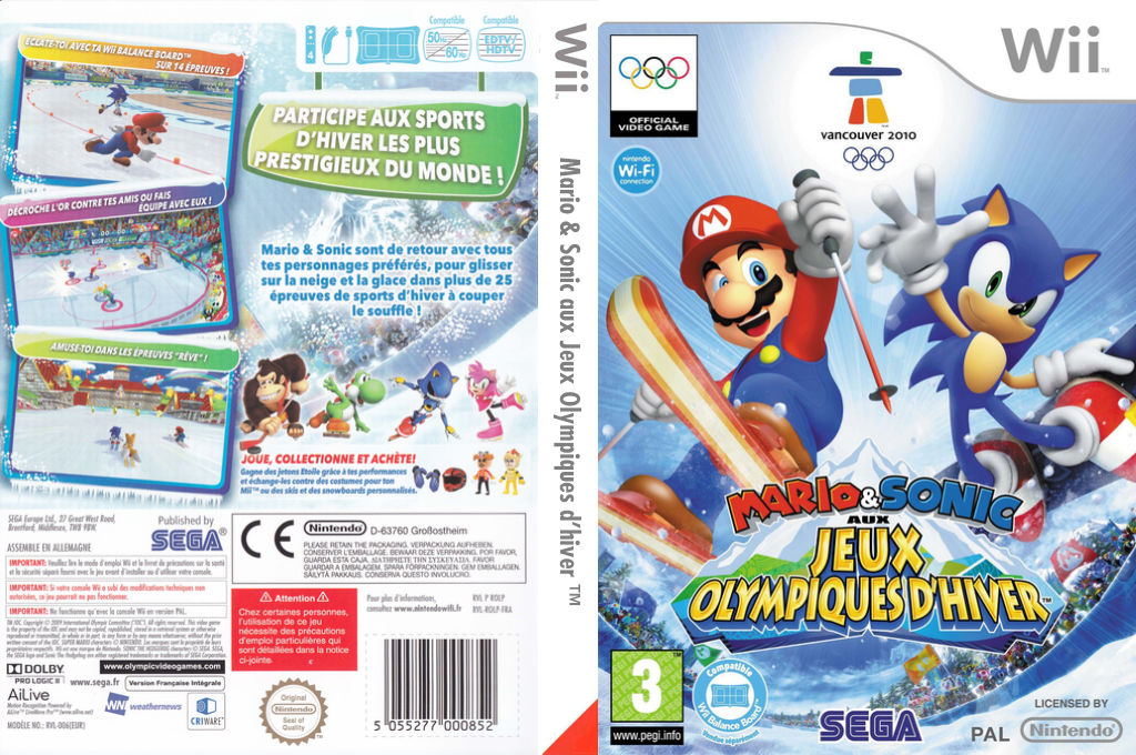Mario & Sonic aux Jeux Olympiques d'Hiver Wii coverfullHQ (ROLP8P)