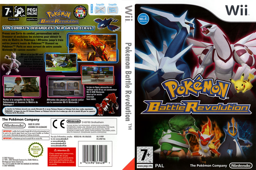 Pokemon Battle Revolution Wii coverfullHQ (RPBP01)
