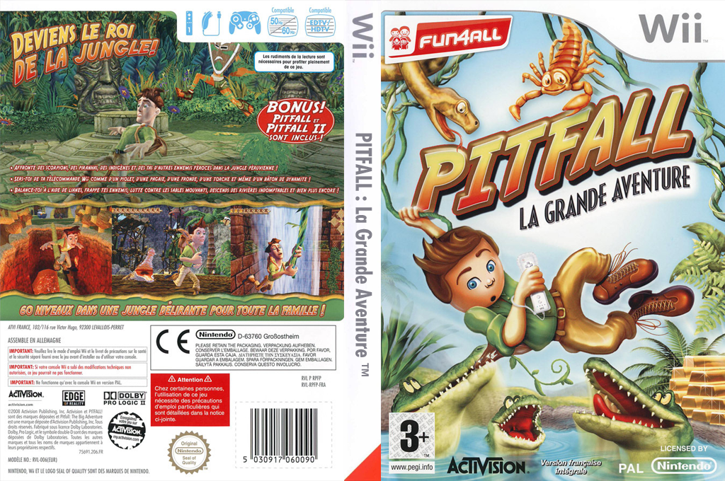 Pitfall :La Grande Aventure Wii coverfullHQ (RPFP52)
