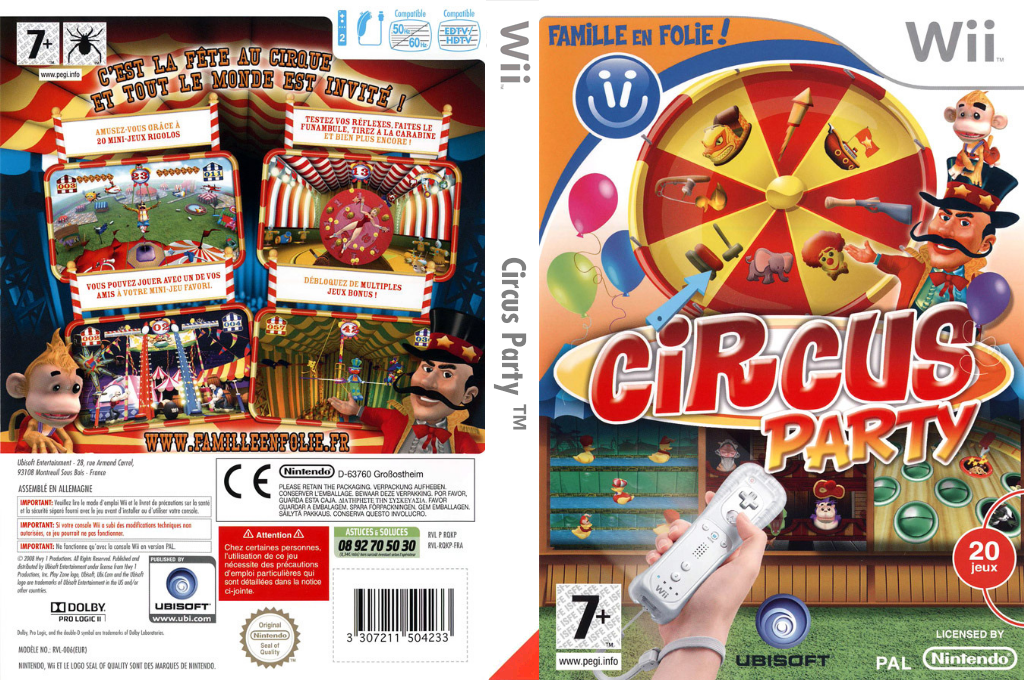 Circus Party Wii coverfullHQ (RQKP41)