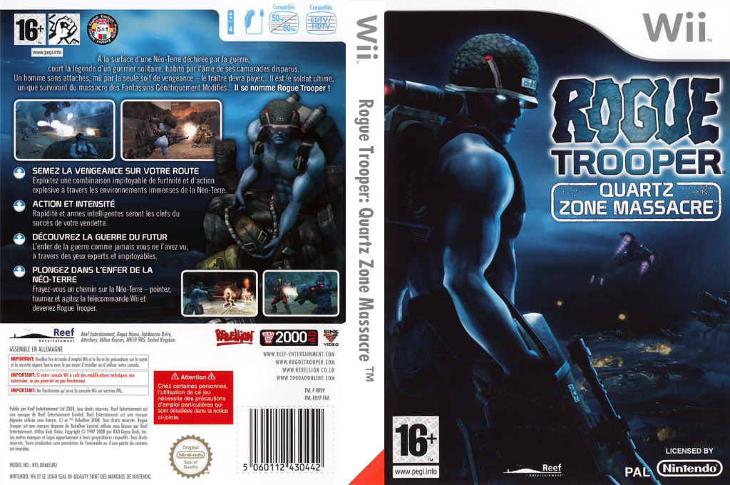 Rogue Trooper : Quartz Zone Massacre Wii coverfullHQ (RRYPHY)