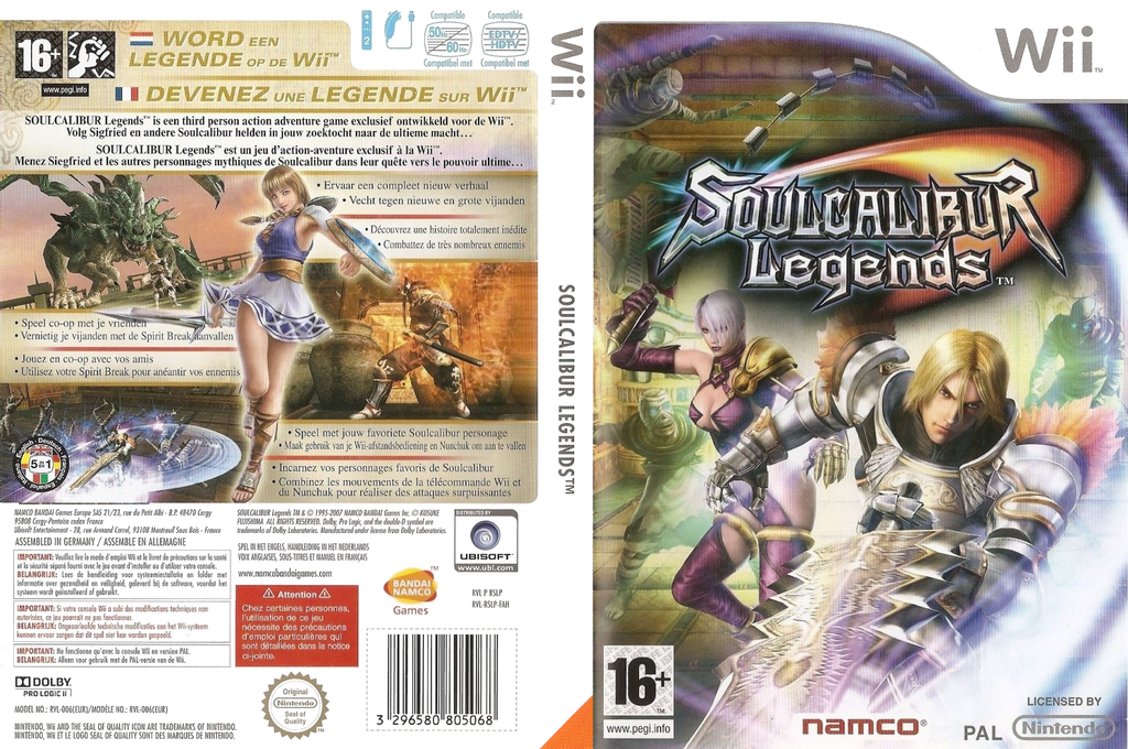Soulcalibur Legends Array coverfullHQ (RSLPAF)