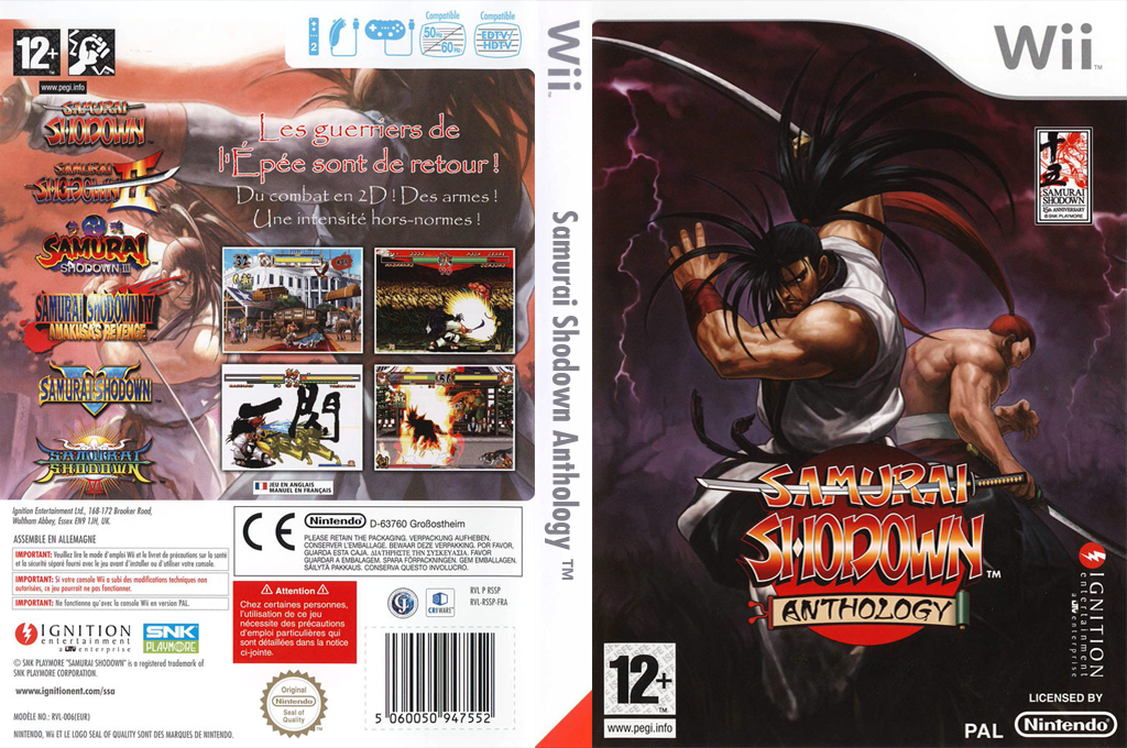 Samurai Shodown Anthology Wii coverfullHQ (RSSP7U)