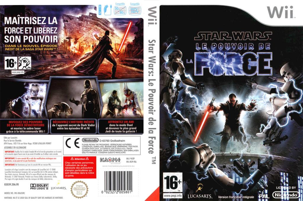 Star Wars:Le Pouvoir de la Force Wii coverfullHQ (RSTP64)